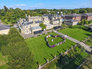 Chilworth Manor Aerial Image