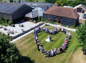 Stoke Farm Barn Wedding